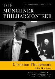 Programmheft Download - Münchner Philharmoniker