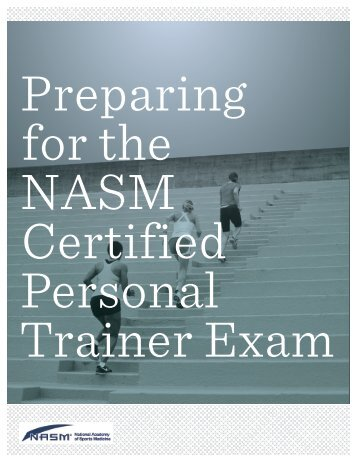 introduction exam breakdown - National Academy of Sports Medicine