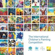 The International Children's Painting Competition - UNEP
