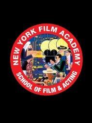 MASTER OF FINE ARTS FILMMAKING - intercâmbios e cursos no ...