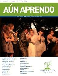 Summer 2012 edition of Aun Aprendo - Besant Hill School of Happy ...