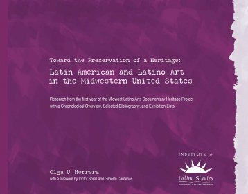 Olga U. Herrera - The Institute for Latino Studies - University of Notre ...