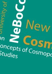 Download programme brochure including Abstracts (as of 5 - NeBoCo