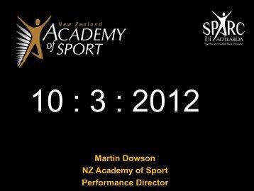 NZ Academy of Sport – Performance Director - Huippu-urheilun ...