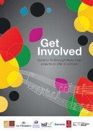 Guide to Tri-Borough Music Hub projects on offer ... - Royal Albert Hall