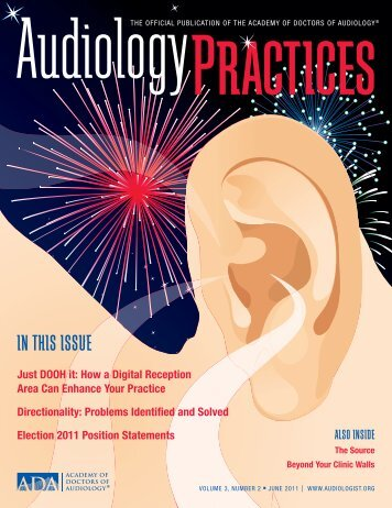 IN THIS ISSUE - Academy of Dispensing Audiologists