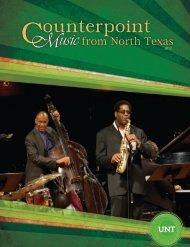 UNT Music in DFW - UNT College of Music - University of North Texas