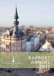 RAPPORT ANNUEL 2011 - Ackermans & van Haaren
