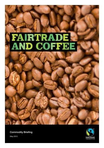 FAIRTRADE AND Coffee