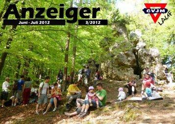 CVJM Anzeiger CVJM Lauf Juni - Juli 2012