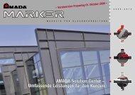 AMADA Solution Center – Umfassende Leistungen für den Kunden