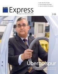 TRUMPF Express, Ausgabe 02/2006 - Trumpf GmbH + Co. KG