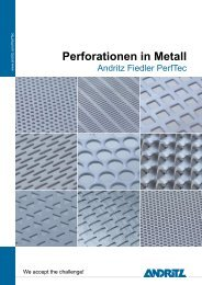 Perforationen in Metall