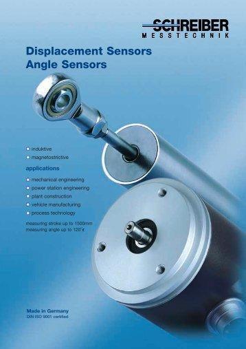 Displacement Sensors Angle Sensors