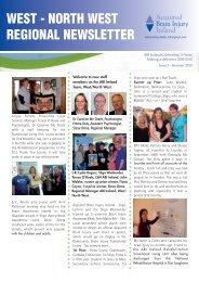 west - north west regional newsletter - Acquired Brain Injury Ireland