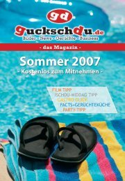 film tipp ischdu-middag tipp gastro guide facts+ ... - bei guckschdu.de