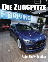 Summer 2010 Issue - BMW Car Club of America New York Chapter