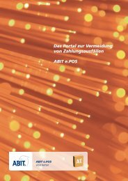 Produktflyer (PDF) - ABIT e.POS