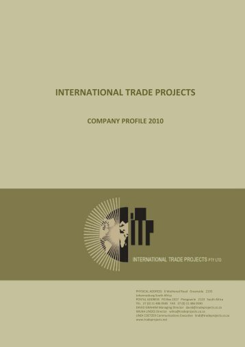 International Trade Projects PTY LTD