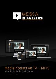 brochure (PDF) - Welcome to mediainteractive.tv