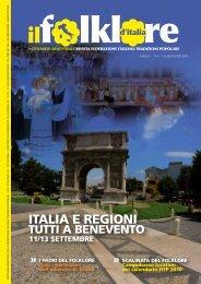 Luglio-Agosto 2009 - Federazione Italiana Tradizioni Popolari