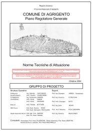Norme Tecniche di Attuazione del P.R.G. - Regione Siciliana