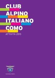 CLUB ALPINO ITALIANO COMO - CAI Sezione di Como