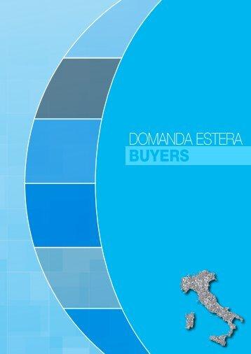 DOMANDA ESTERA BUYERS - Arts and Events 100 Italian Cities