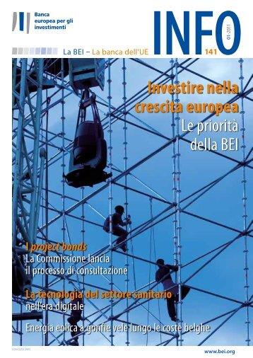 BEI Info N.141 - European Investment Bank