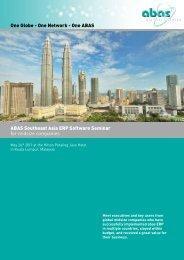 Programm (pdf) - ABAS Projektierung