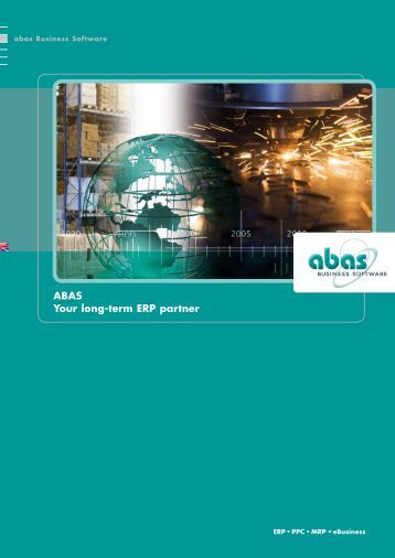 ABAS - your long-term ERP partner - ABAS Software AG