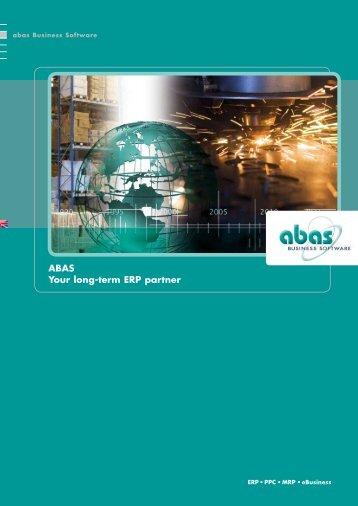 ABAS - your long-term ERP partner - ABAS Software AG