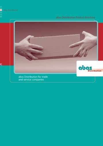 abas ERP for Distribution Brochure - Panorama Consulting Solutions