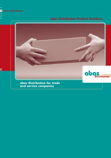 abas Distribution for trade and service companies abas Distribution ...
