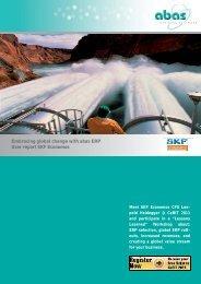 abas ERP Software User Report: SKF Economos - ABAS Software AG