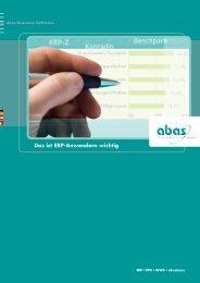 ERP-Studien: Das ist Anwendern wichtig - ABAS Software AG