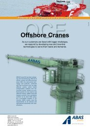Offshore Cranes - ShipServ