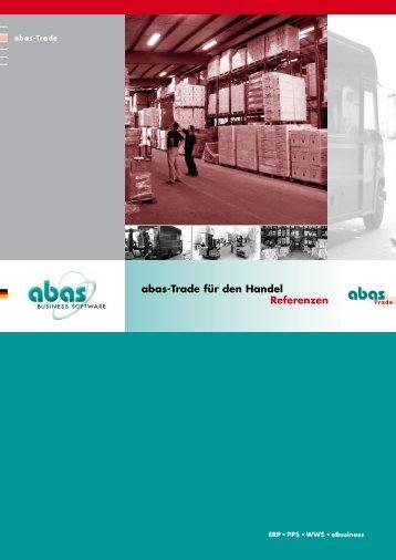 abas-Trade für den Handel Referenzen - ABAS Competence ...
