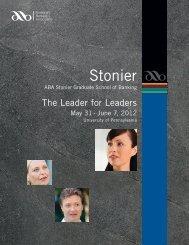 Stonier Brochure