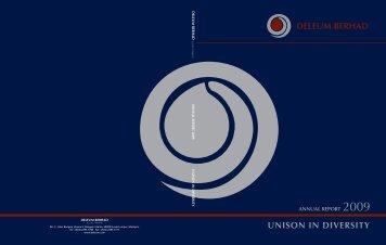 DELEUM BERHAD UNISON IN DIVERSITY - ChartNexus