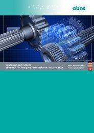 Leistungsbeschreibung abas-ERP für Fertigungsunternehmen ...