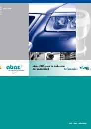 abas ERP para la industria del automóvil Referencias - MapaTIC