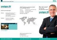 analyzer BI analyzer BI - ABAS Projektierung