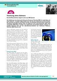 Trennung ohne Schmerz - ABAS Software AG