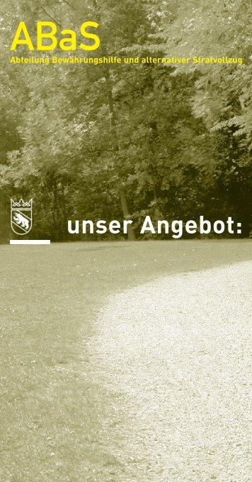 Flyer ABAS - Polizei - Kanton Bern