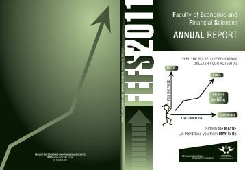 FEFS Annual Report 2011 - University of Johannesburg
