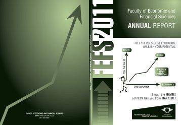 FEFS Annual Report 2011 - University of Johannesburg
