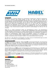geht den HABEL-WEG - abas system gmbh