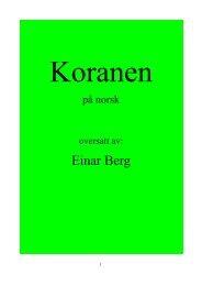 Koranen - Way to Allah