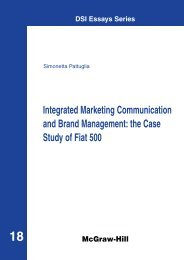 Integrated Marketing Communication and Brand Management: the ...